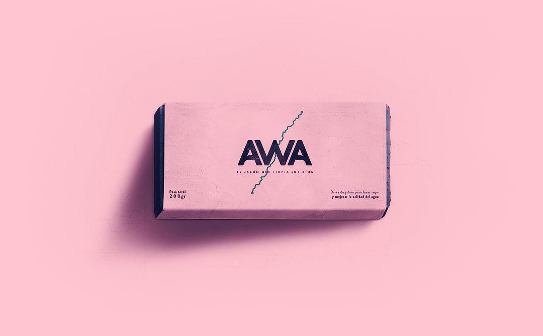 AWA: Um sabão com função probiótica que limpa as águas dos rios