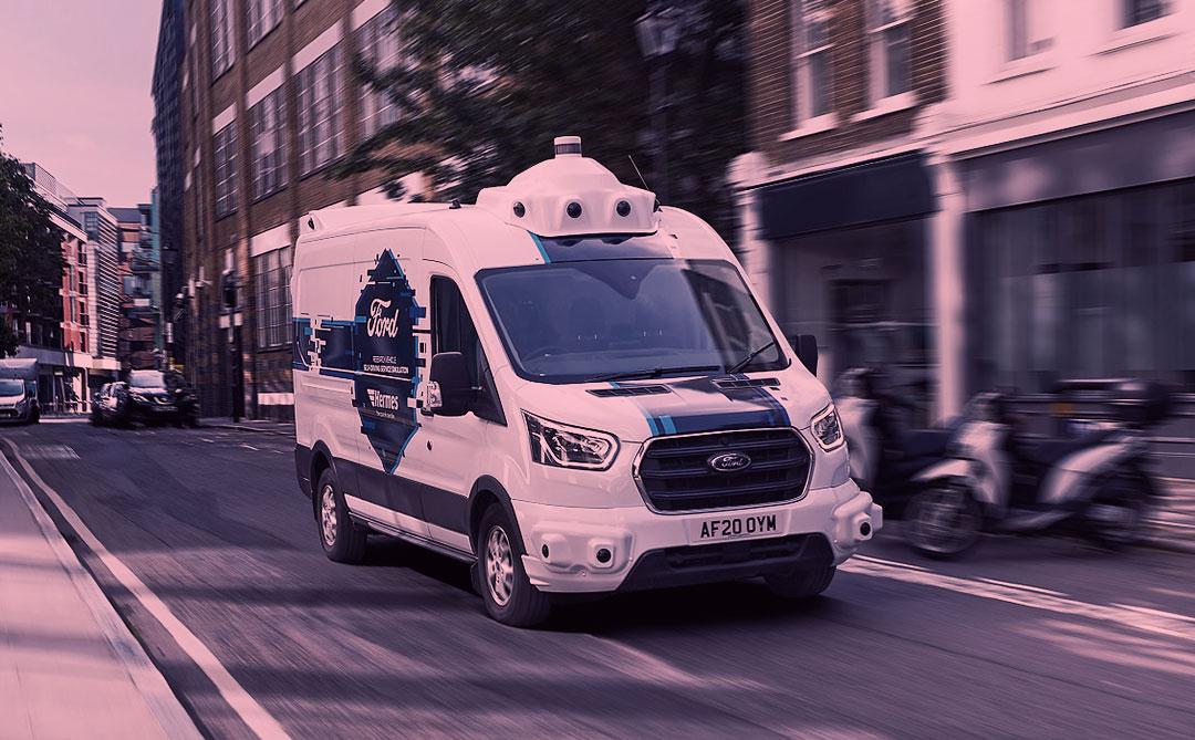 Ford inicia teste de entregas urbanas com vans autônomas na Europa