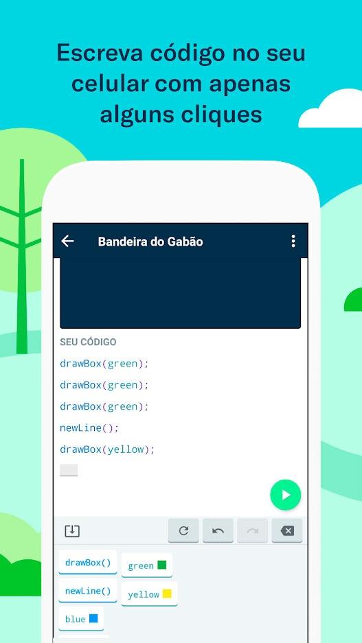 Grasshopper: Um app que ensina programação de maneira fácil e gratuita
