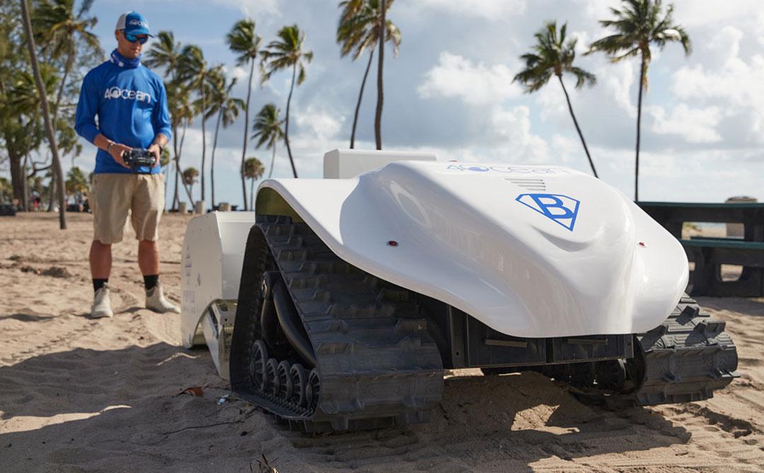Conheça a 4ocean e o BeBot, sua nova solução para limpeza das praias