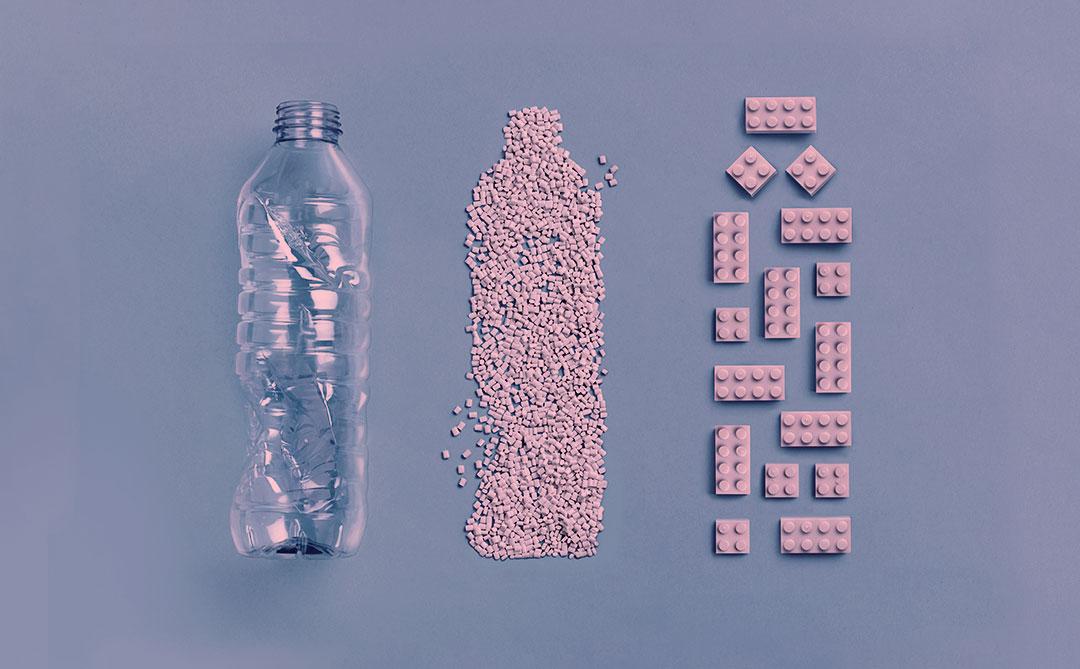 Conheça o primeiro tijolo de LEGO feito de plástico reciclado