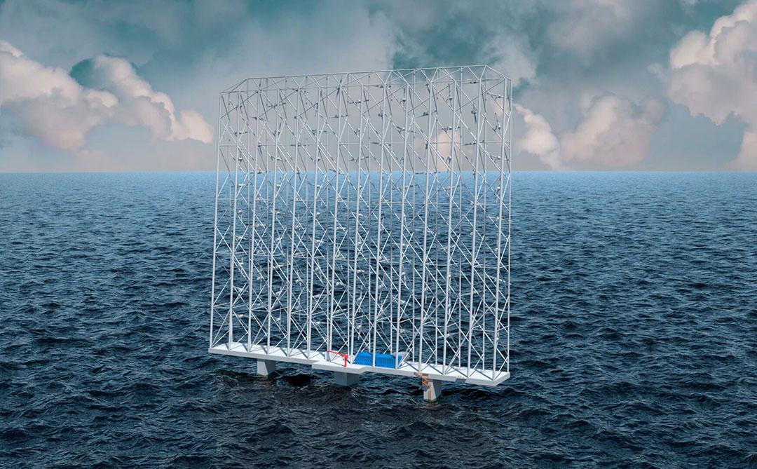 Wind Catching quer inovar na produção de energia eólica marítima
